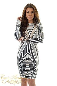 Eve Exclusive Gigi Sequin Dress Creme Close