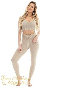 Eve Amazone Metallic Pants Gold