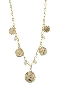 Ettika Boho Coins Necklace