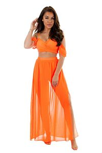 Eve Fab Blossom Two Piece White Front