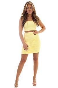 Jessy Two Piece Yellow