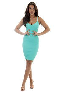 Eve Amy Dress Ocean Blue