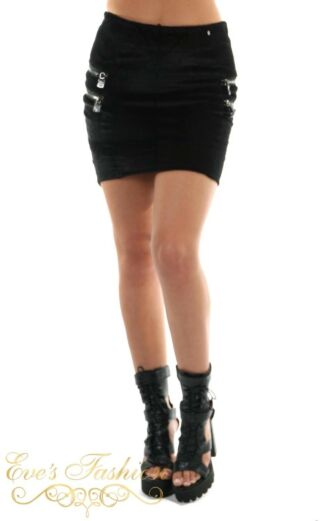 Eve Charlotte Fur Skirt Front