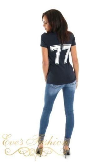 POES Tshirt Blue