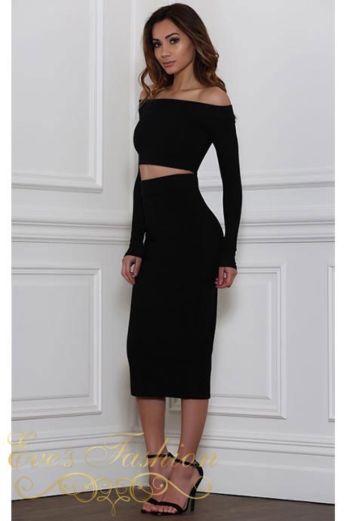 Reckless Skirt Black