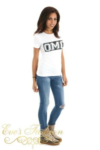 OMG Tshirt White Front
