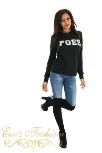 POES Sweater Black Side