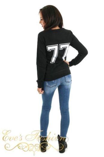 PIK Sweater Black