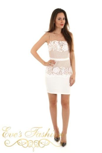 Elisabeth Lace Dress Front