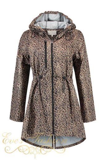 Cloudy Raincoat Brown