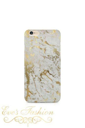 Marmer Case White/Gold