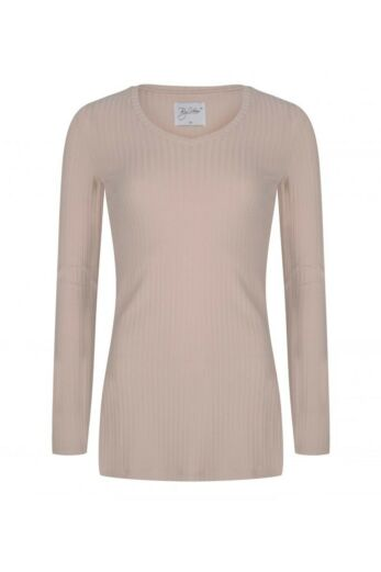 By Veer V-Neck Sweater Creme Front