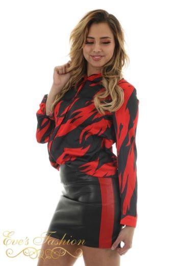 Dina Skirt Red