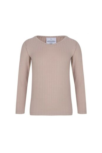By Veer Kids V-Neck Sweater Creme Front