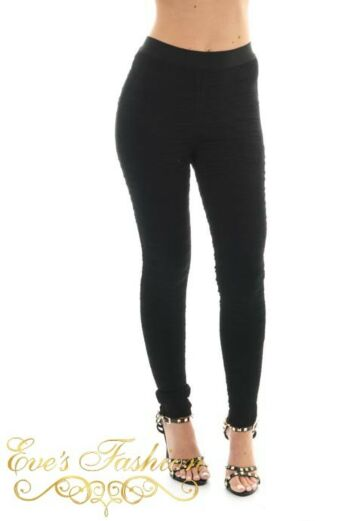 Iconic Pants Black Front