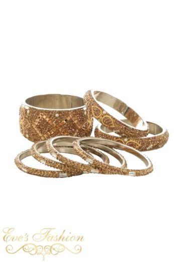 Santa Gold Bracelet Set
