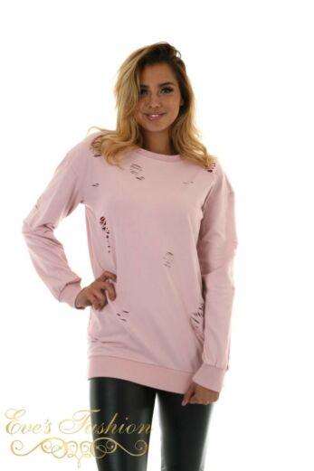 Amina Sweater Sweet Pink Close