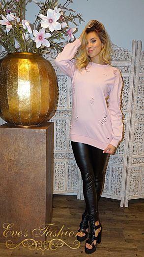 Amina Sweater Sweet Pink