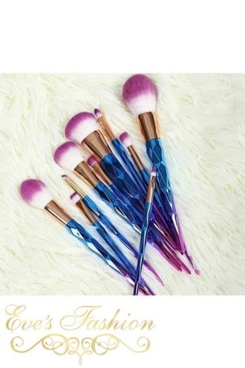 Mermaid 12 Make-up Brushes