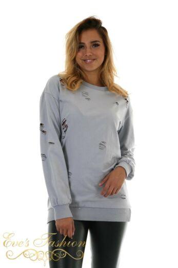 Amina Sweater Misty Grey Close