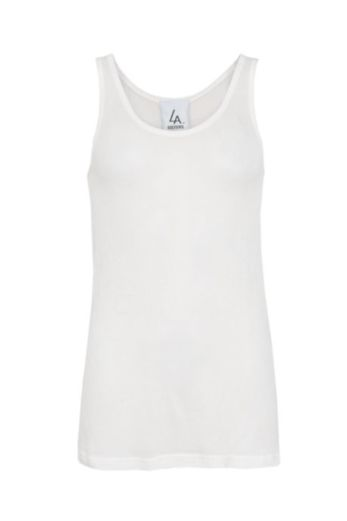 Knitted Basic Singlet White