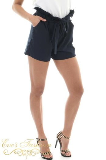 Ruby Shorts Night Blue Close Side