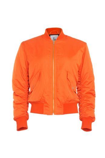 Oversized Bomber Orange