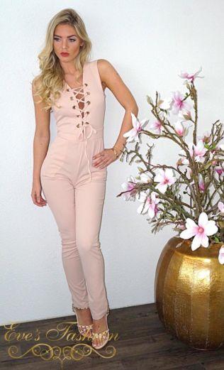 Zara Jumpsuit Pink
