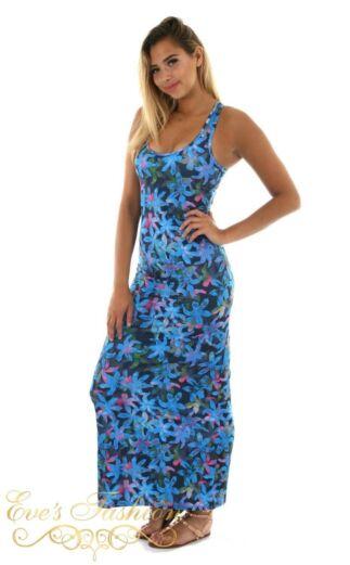 Eve Fiona Maxi Dress Blue Side