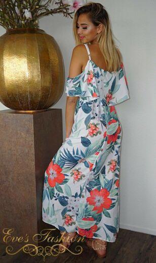 Beachy Maxi Dress White