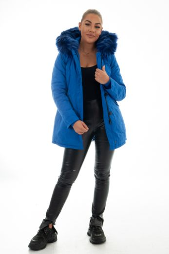 Parka Kobalt Blue