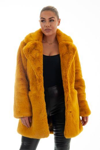 Chloe Coat Oker
