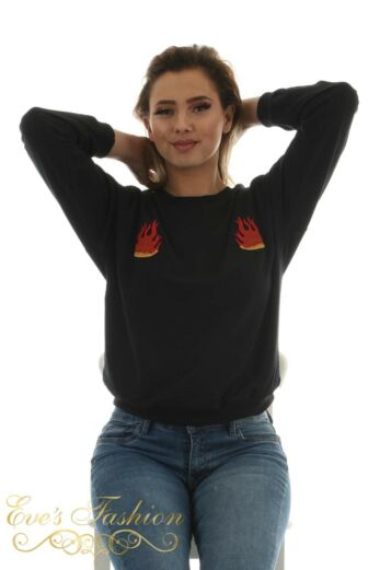 Eve Flame Sweater