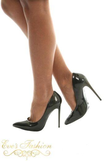 Eve Sparkle Metallic Heels Dark Bronze Side