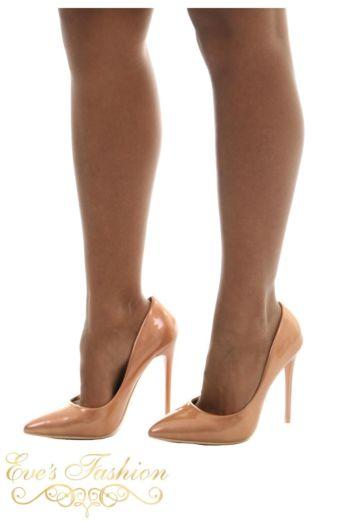 Sparkle Metallic Heels Gold