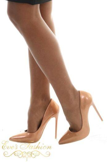 Eve Sparkle Metallic Heels Gold Side