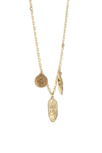 Ettika Sunken Treasure Necklace in Gold