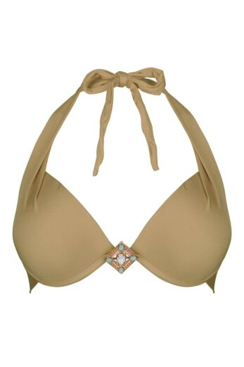 Boho Bikini Triangle Top Supreme Bronze