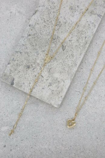 Precious Keepsake Necklace in Gold
