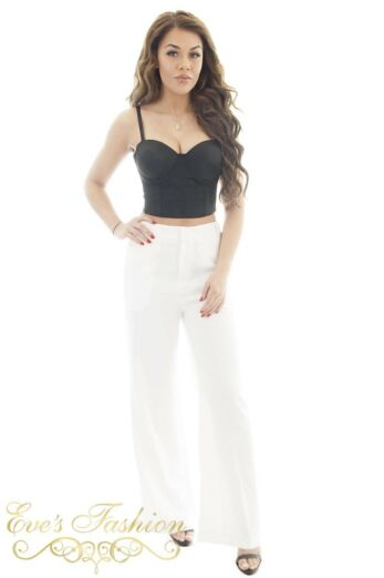 Jaimy Luxury Pants White