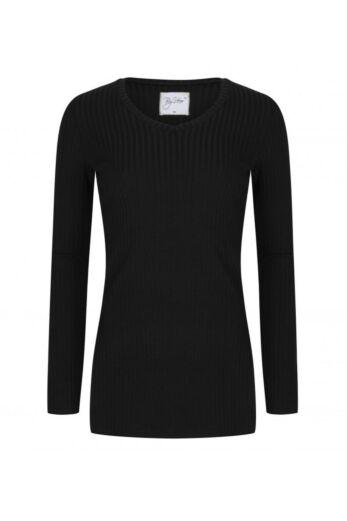 By Veer V-Neck Sweater Black Front