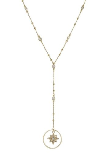 Ettika Gleam N' Glow Lariat Necklace still