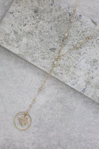 Gleam N'Glow Lariat Necklace