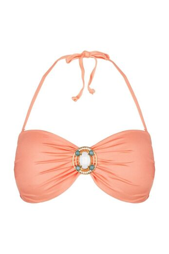 Bandeau Top Iconic Peach