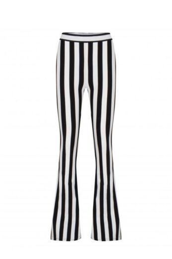 By Veer Stella Striped Flare Pants Front