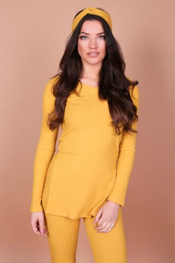 V-Neck Sweater Yellow