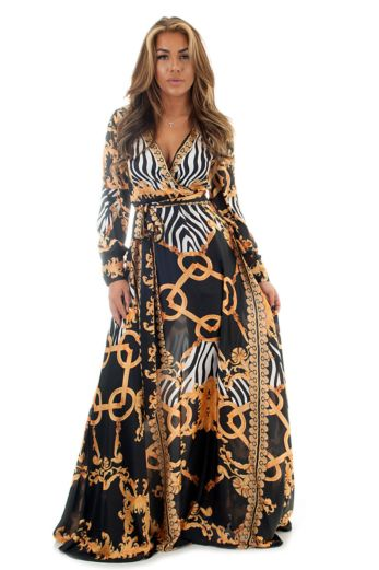 Eve Exclusive Sienna Dress Long Front Pose