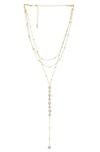 Bali Dreams Necklace In Gold Front