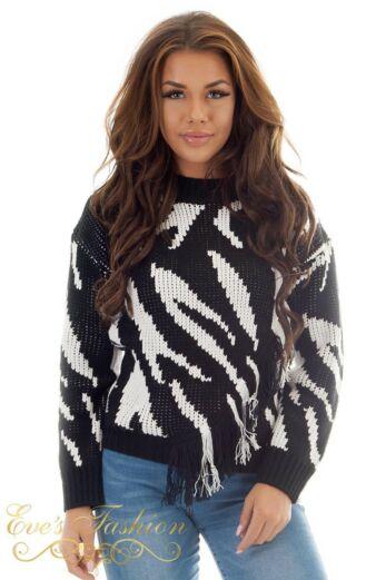 Dilara pullover Knit Fringes