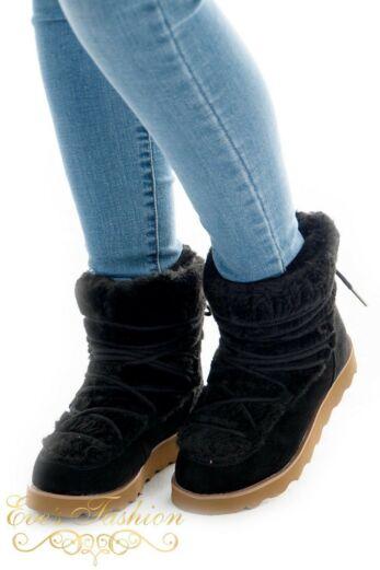 Kitty Fur Boots